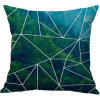 Forest Cotton Linen Printing Pillowcase Creative Home Cushion Cover