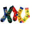 Custom Funky Cotton Mens Crew Socks Gift Box