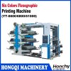 High Speed 6 Colors Rubber Plate Printing Machine