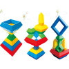 Children Geometric Style Magic Tower Toy