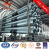 Hot DIP Galvaning 10m & 12m Electric Pole with Bitumen for Transmission