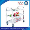 Made in China Factory Price Commercial Kitchen Equipment Stainless Steel Dining Car Service Cart