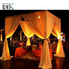 Telescopic Pipe and Drape Wedding Party Event Backdrop Decoration