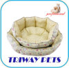Printed Cotton Deluxe Dog Bed