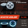 Jeep DOT/SAE Approved LED Headlights CREE Chip Hi/Low Beam Round Headlamps