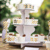 Recyclable Cardboard Cake Stand Party Wedding Decoration