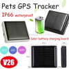 IP66 Waterproof Solar Power GPS Tracker for Animals