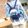 Cute Waterproof Canvas Backpack Set Student Bag School Bag