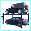 Manual Hydraulic Lift 4 Post Platform for 2 Cars Parking