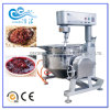 Stainless Steel Gas Heating Cooking Jacketed Kettle with Mixer for Jams