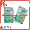 Special Shape Liquid Packaging Plastic Bottle Bag with Nozzle