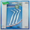 "3PC Pack ""7"" L Shape Interdental Brush with Cover"