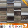 Classical Style Cold Spray Glass and Marble Stone Mosaic (M855052)
