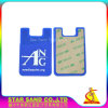 Customized 3m Sticker Card Holder, Silicone Credit Card Holder Wallet