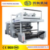 Roll Material 4 Color BOPP Flexographic Printing Machine with PLC Contral