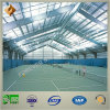 SGS Approved Prefab Steel Structure Tennis Court