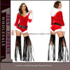 Hot Sales Theatrical Costume Christmas Snowman Sexy Bodysuit (5277)
