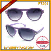F7291 Matt Gradient Lens Plastic Frames Fashion Sunglasses