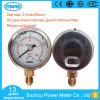 63mm Commercial Type Liquid Oil Pressure Gauge Manometer Glycein or Silicone Brass Internals