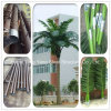 Telecommunication Galvanized Steel Self Supporting Tubular Monopine Single Tube Pipe Antenna Telecom Communication Bionic Artificial Camouflaged Tree Tower