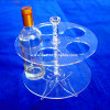 Acrylic Wine Bottle and Glass Holder