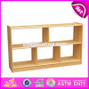 High Quality Kids Preschool Furniture Natural Wood Storage Furniture W08c203