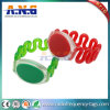 125kHz Tk4100 Em4200 Colorful PVC Wristband for Leisure Clubs