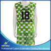 Custom Sublimation Lacrosse Sports Garment with Reversibles and Shorts