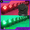 High Power Wash Moving Head LED 36X3w RGB