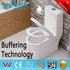 Big Size Washdown Toilet Suite with Pedestal and Bidet