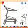 Low Price Metallic Handing Supermarket Trolley with Basket (Zht261)