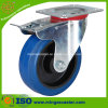 Total Brake Elastic Rubber on PP Wheel Caster