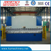 WC67Y-160X6000 hydraulic steel plate bending machine/metal folding machine