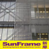 Aluminium Louvers for Curtain Wall Decoration