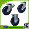 European Type Solid PU Caster Wheels