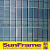 Aluminium Glazing United Curtain Wall System in Great Waterproof