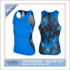 Men Dri Fit Compression Sports Top with Sublimation Printing