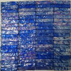 Pearl Blue Glass Marble Mosaic