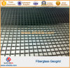 Black 80kn/M Biaxial Glass Fiber Geogrids for Roadbed Reinforce