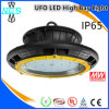High-Quality Brand Chips and Meanwell Driver UFO LED Highbay Light