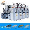 Vertical 2 Color PVC/Tr Shoe Sole Making Machine