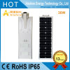 Top Manufacturer Integrated LED Solar Street Light for Outdoor Lighting