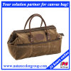 Casual Fashion Waxed Canvas Traveling Duffle Leisure Bag