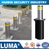 portable Reflective Rubber Base Stainless Steel Fencing Bollards