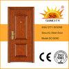 Surface Finished Wrought Iron Front Steel Door (SC-S090)