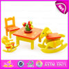 Funny Play Wooden DIY 3D Furniture Puzzle for Kids, Non-Toxic Distribution Block Furniture with House 3D Puzzle W03b041