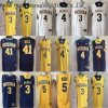 Wholesale Michigan Wolverines Burke Webber Rice Rose Basketball College Jerseys