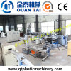 HDPE Milk Bottle Flakes Recycling Granulation Machinery