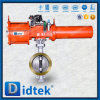 Didtek Pneumatic Triple Offset Wafer Butterfly Valve