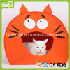 Cat Face Shape Felt Cat House